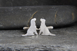 Labrador Retriever Cufflinks - Lucy Symons Jewellery