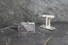 Load image into Gallery viewer, Reflections on the Sea Rectangular Cufflinks - Lucy Symons Jewellery