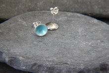 Load image into Gallery viewer, Rock Pool Stud Earrings - Lucy Symons Jewellery