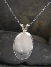 Load image into Gallery viewer, Tourmilated Quartz Pendant - Lucy Symons Jewellery