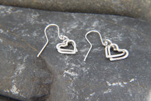 Load image into Gallery viewer, Entwined Heart Drop Earrings - Lucy Symons Jewellery