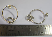Load image into Gallery viewer, Entwined Rings Earrings - Lucy Symons Jewellery