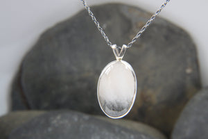Tourmilated Quartz Pendant - Lucy Symons Jewellery
