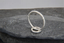 Load image into Gallery viewer, Hammered Circle Ring - Lucy Symons Jewellery