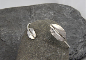 Leaf Bangle - Lucy Symons Jewellery