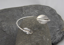 Load image into Gallery viewer, Leaf Bangle - Lucy Symons Jewellery