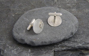 Entwined Ring Cufflinks - Lucy Symons Jewellery