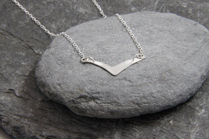 Soaring High Seagull Necklace - Lucy Symons Jewellery