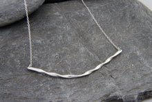 Load image into Gallery viewer, Rolling Waves Bar Necklace - Lucy Symons Jewellery