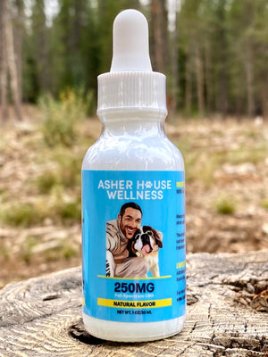 1oz Asher House Wellness CBD Oil-250mg MONTHLY SUBSCRIPTION