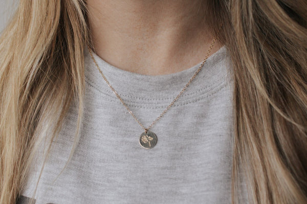 Forget Me Not Necklace