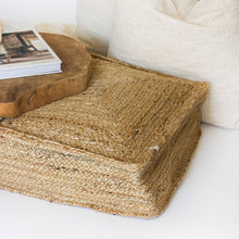 Load image into Gallery viewer, Braided Jute Floor Cushion