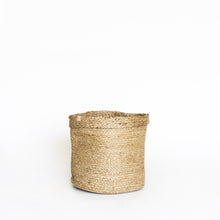 Load image into Gallery viewer, Natural Plain Jute Basket