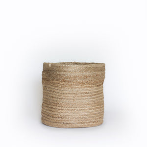 Natural Plain Jute Basket