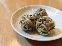 2017 AGED WHITE TEA BALLS; 3 balls (7 grams each ball)