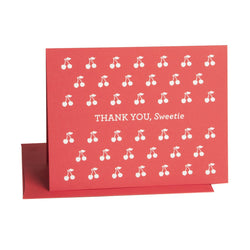 Cherry Thank You Card