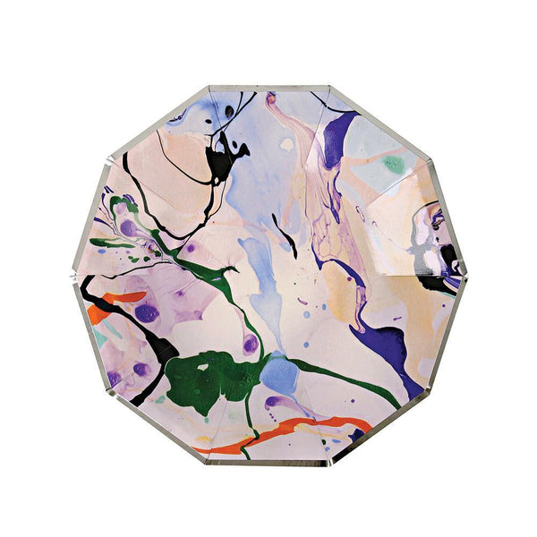 Marble Small Paper Plates