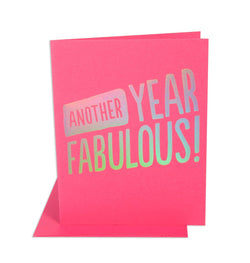 Another Year Fabulous Card
