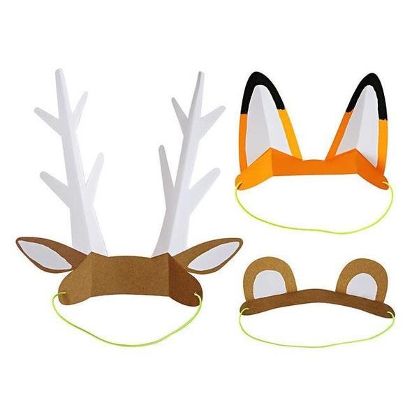 Woodland Adventures Paper Animal Ears