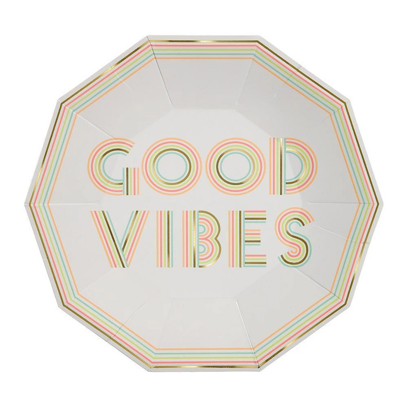 Good Vibes Large Plates