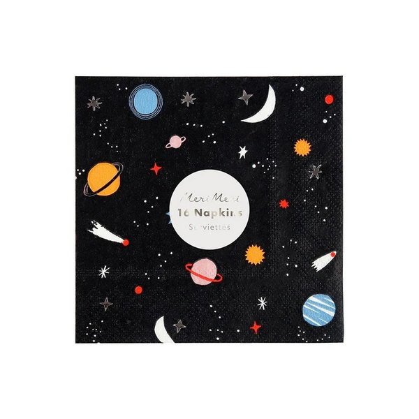 To The Moon Cocktail Napkins