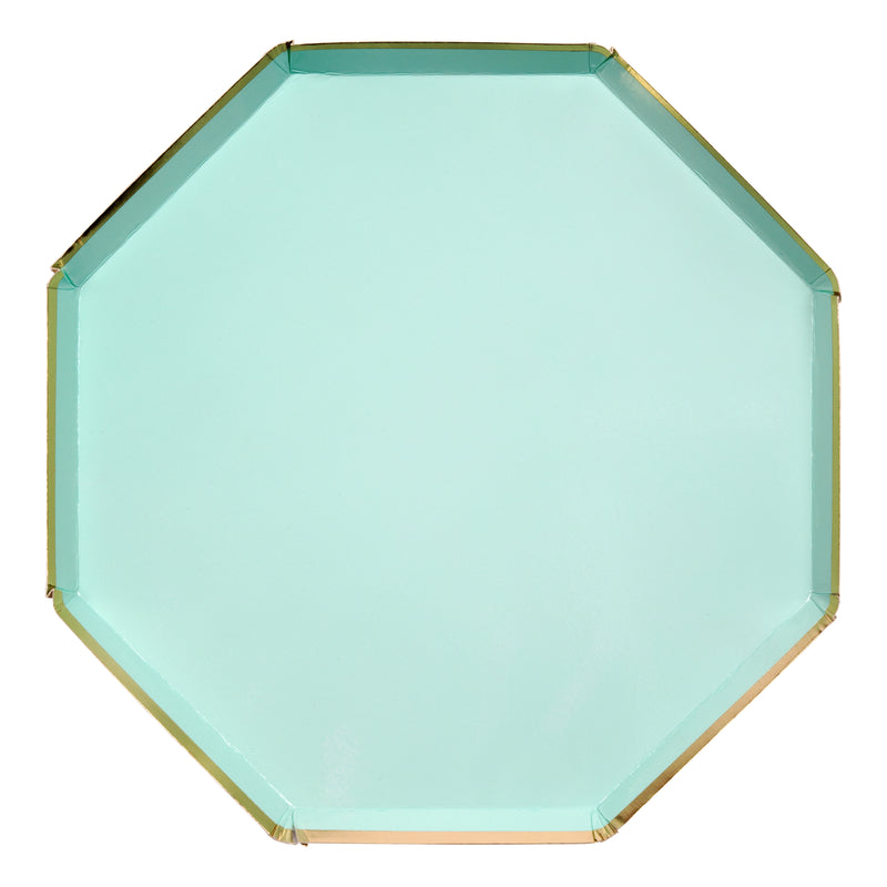 Mint Dinner Plates - Large