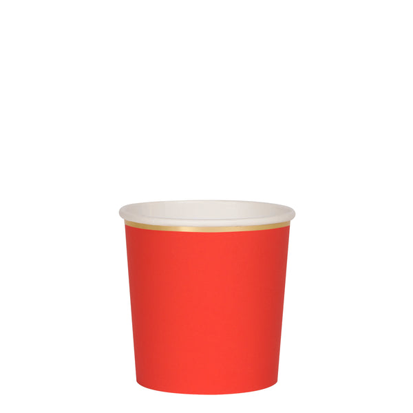 Red Tumbler Cups