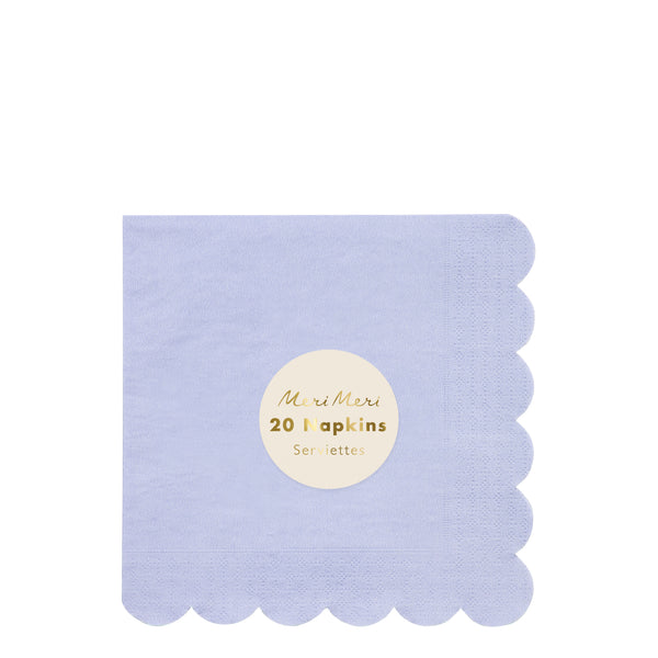 Pale Blue Large Napkins