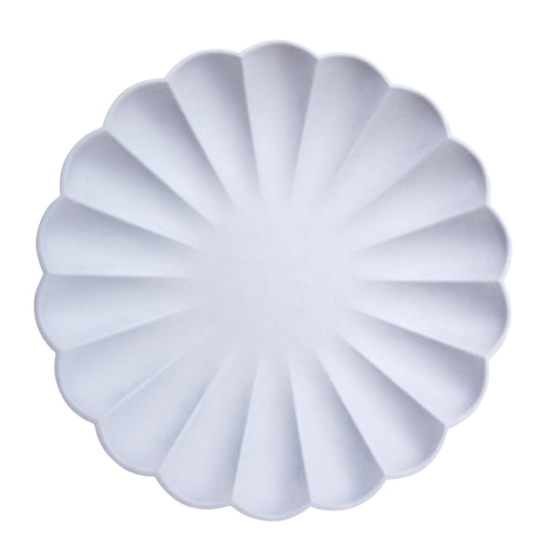 Pale Blue Simply Eco Plates - Large