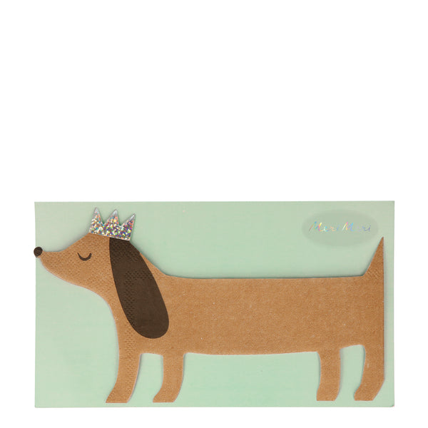 Sausage Dog Napkins