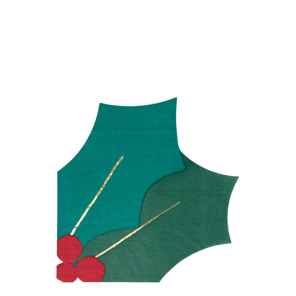 Holly Leaf Napkins