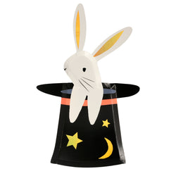 Bunny In Hat Shaped Plates