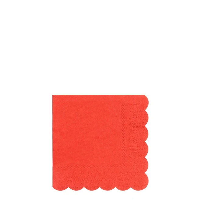 Red Small Napkins