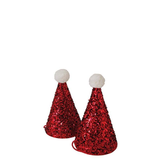 Mini Santa Party Hats