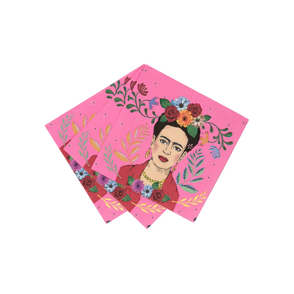 Frida Kahlo Cocktail Napkins