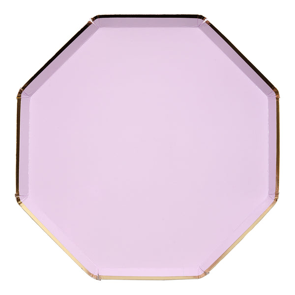Lilac Dinner Plates - Large