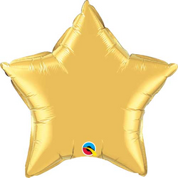 "20"" Star Balloon - Gold"