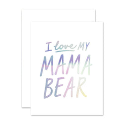 Mama Bear Love Card