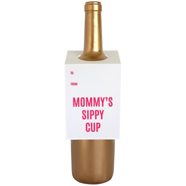 Mommy's Sippy Cup Bottle Gift Tag
