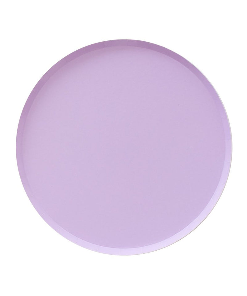 Oh Happy Day Large Plates - Lilac