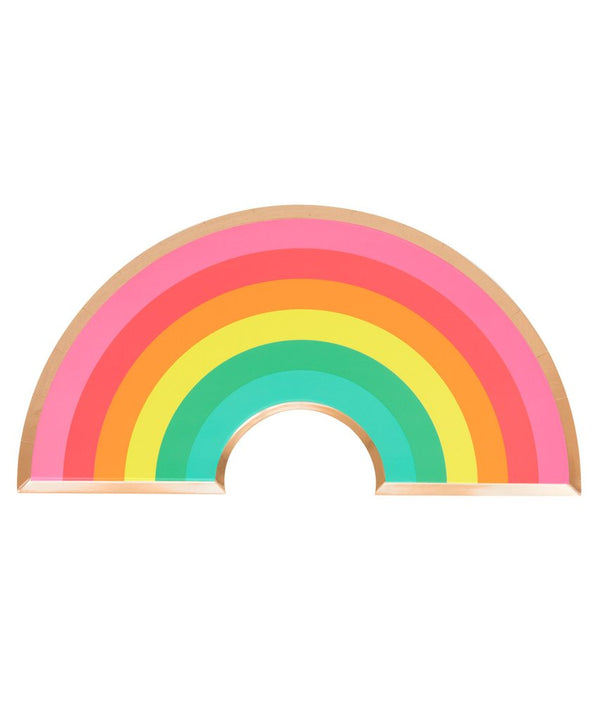Oh Happy Day Rainbow Plate