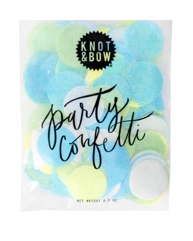 Blue Mix Party Confetti Bag
