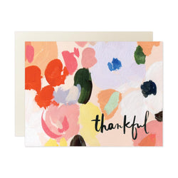 Petals Thankful Card