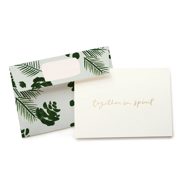 Pine Together In Spirit Card