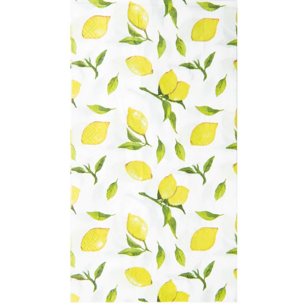 LEMON DROP GUEST TOWEL