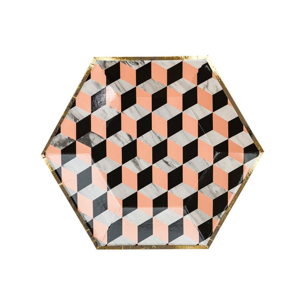 Vanity - Louis Cube Small Paper Plates