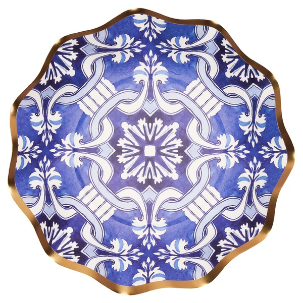 MOROCCAN NIGHTS WAVY APPETIZER/DESSERT BOWL