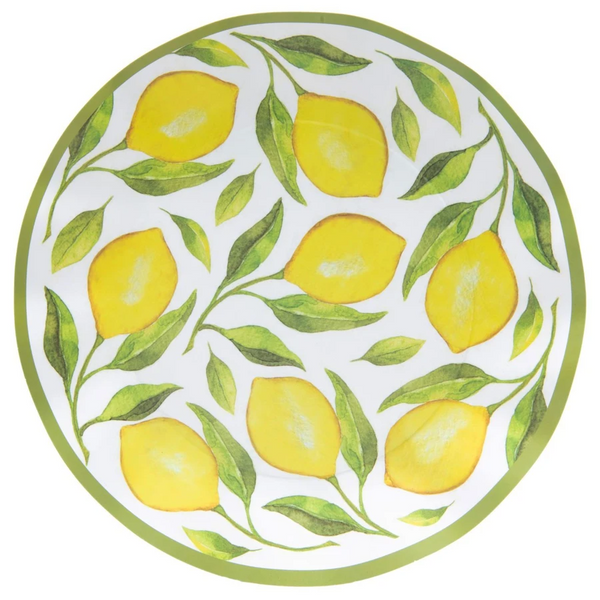 LEMON DROP WAVY DINNER PLATE