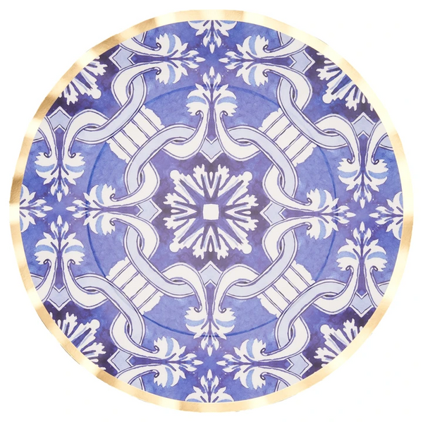 MOROCCAN NIGHTS WAVY DINNER PLATE