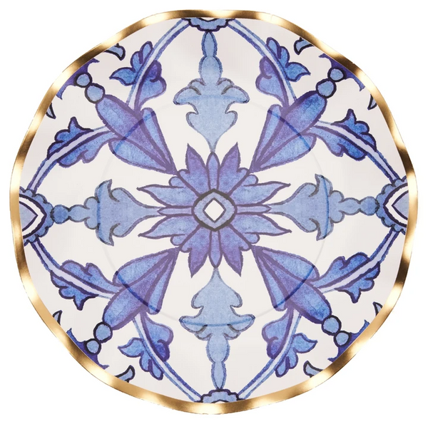MOROCCAN NIGHTS WAVY SALAD PLATE